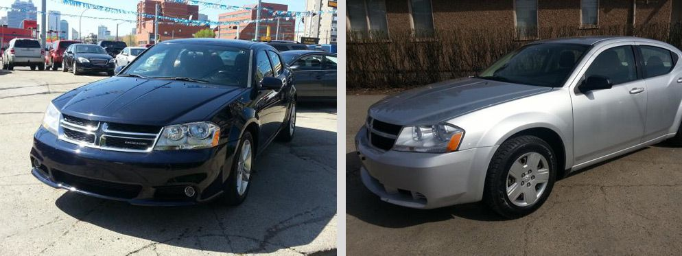 used-dodge-avenger-blue-silver